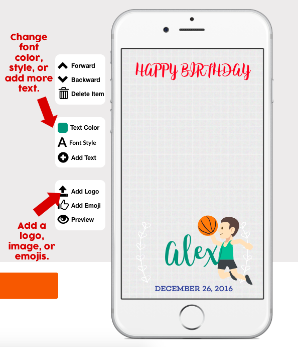 Snapchat Birthday Filter Geofilter Maker