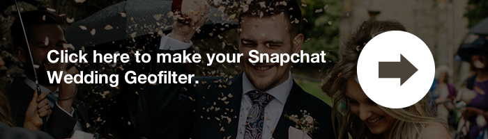 Snapchat Wedding Filter CTA