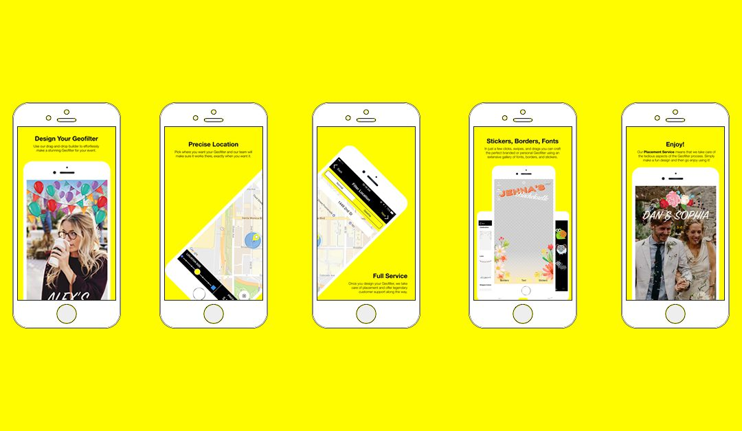 Introducing the Snapchat Geofilter App: FilterPop